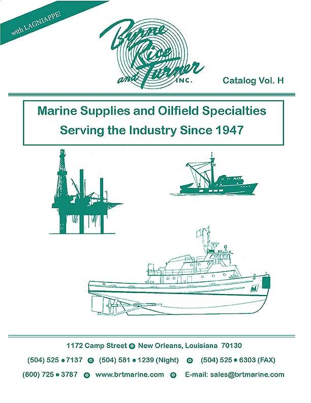 BRT Marine Product Catalog