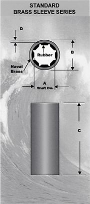 Morse Standard Brass Sleeve Bearings